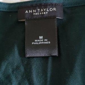 Ann Taylor Factory Tops - Green shell